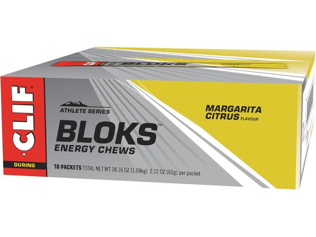 CLIF Bar Shot Bloks Box 18x60g, Margarita